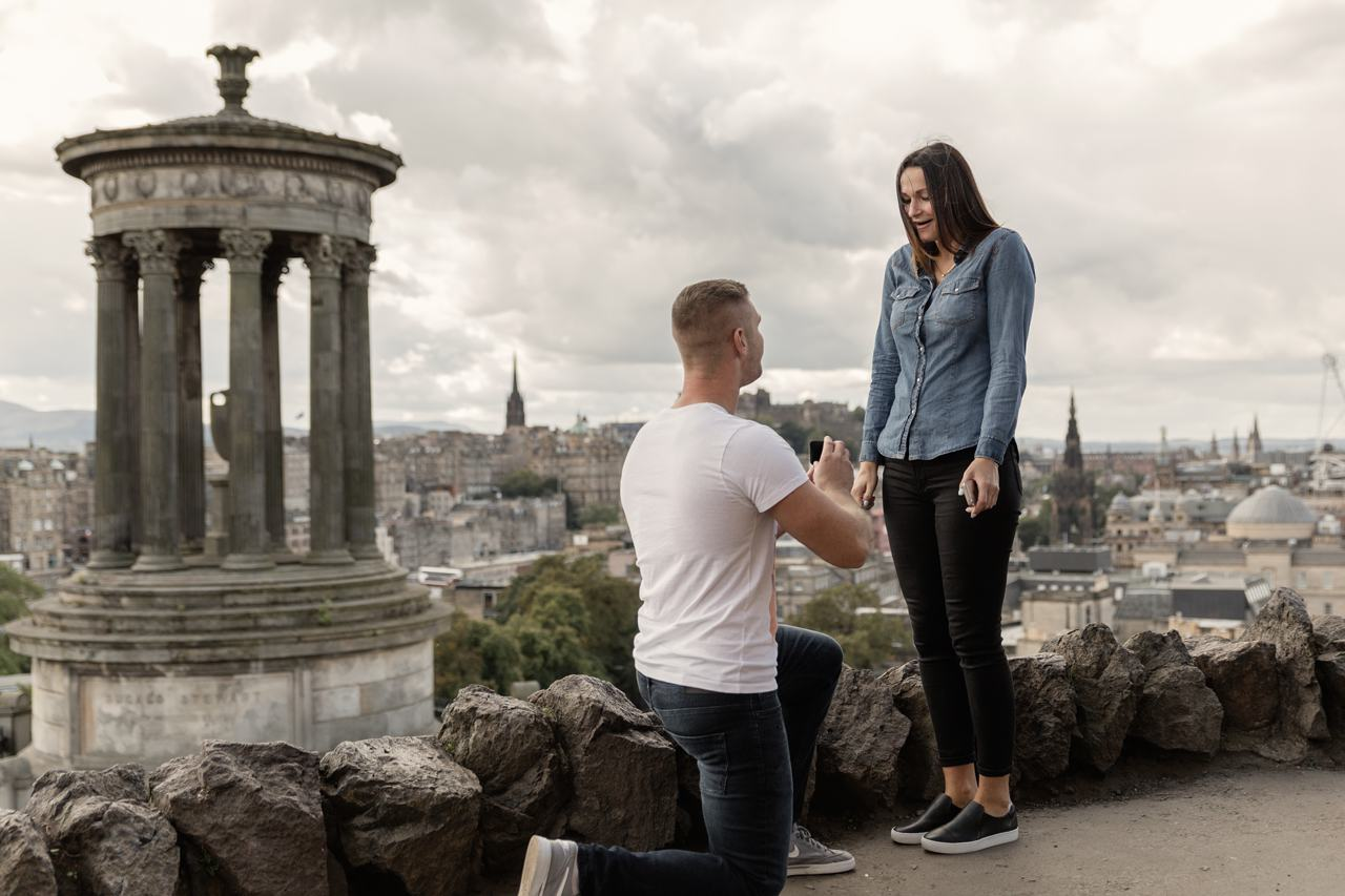 EDINBURGH CALTON HILL SECRET PROPOSAL