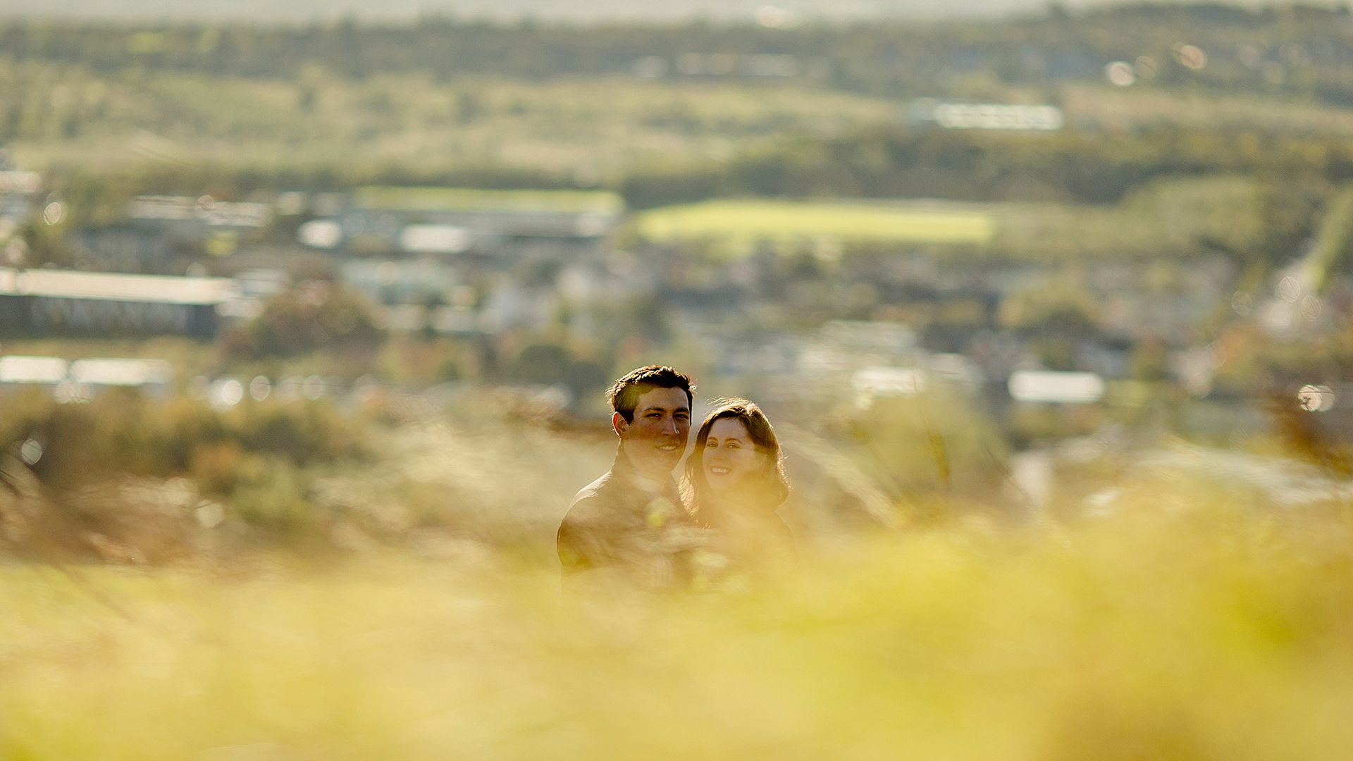 holyrood park engagement session