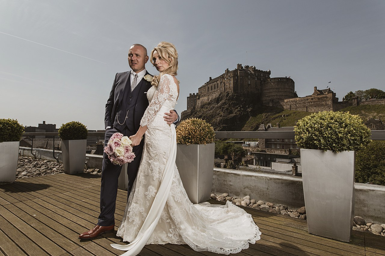 Apex Grassmarket Wedding Photography